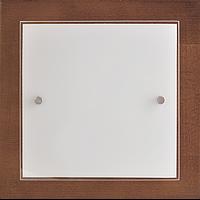 Светильник настенно-потолочный Vesta Light орех 1*20 Вт 27702
