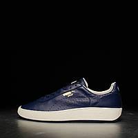 Кеды мужские Puma Star Peacoat 357763 03 (синие, кожаные, повседневные, демисезонные, закрытые, бренд пума), фото 1