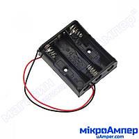 Тримач батарей AA (Тип: 3 відсіки)