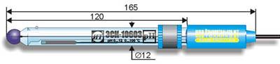 Комбинированный pH-электрод ЭСК-10603 лабораторный