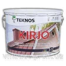 Краска для крыш Текнос Кирйо (Teknos Kirjo) 9 л, Б3