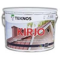Антикоррозийная краска для крыш Teknos Kirjo (Текнос Кирйо), 2,7л, Б3