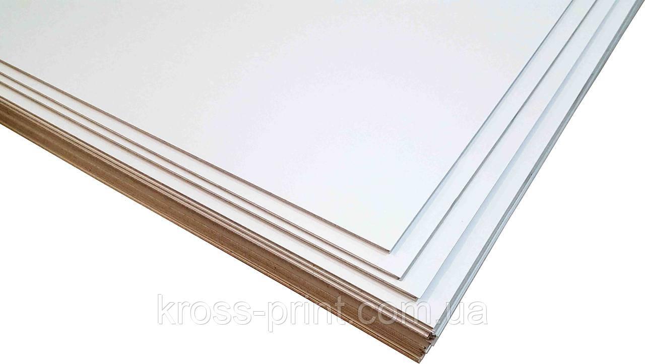 Картон переплетный двусторонний белый толщ.1.4мм, 100х70см (голландский)