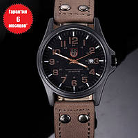 Кварцевые часы Siroki (dark-brown) - гарантия 6 месяцев