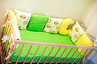 Детское постельное, бортики-защита в кроватку