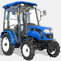 Трактор ДТЗ 4244К (КПП 8+8, двухдисковое сцепление, гидроус. руля, кабина с отоплением)