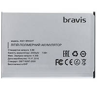 Аккумуляторная батарея ОРИГИНАЛЬНАЯ для АКБ Bravis Bright A501 Highpower (1 год гарантии)