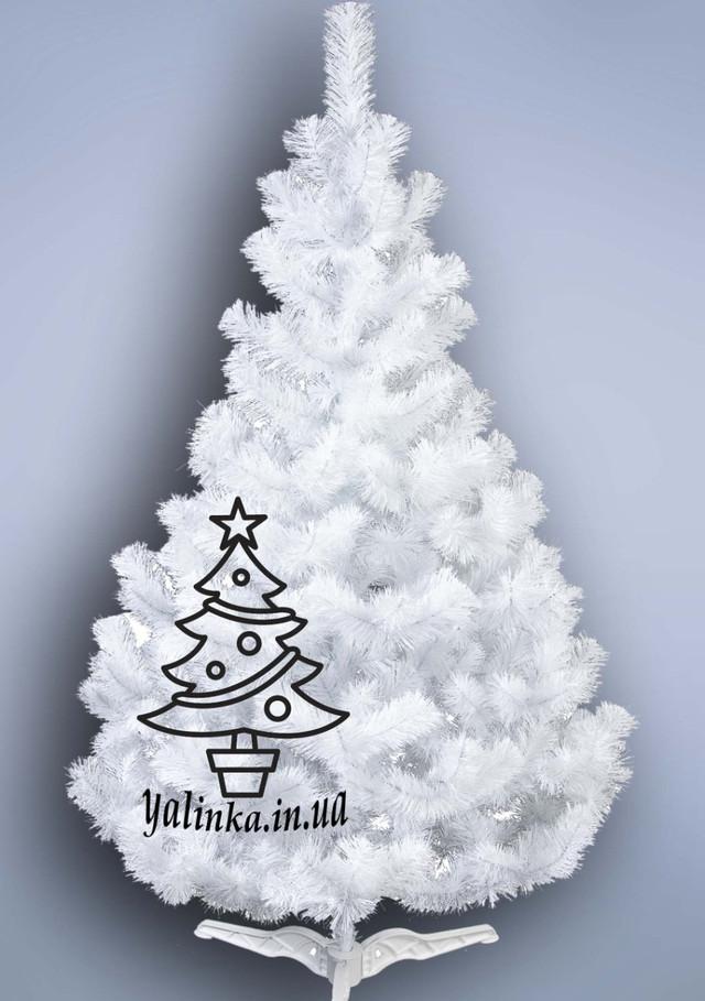 Белая рождественская елочка