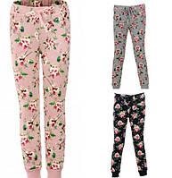 Спортивные брюки утепленные для девочек Glo-Story