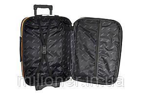 Чемодан Bonro Style набор 3 штуки черно-т. фиолетовый, фото 3