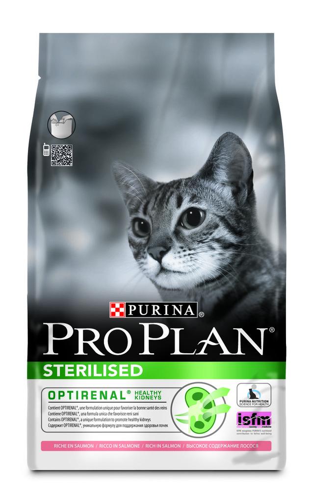 Корм для стерилизованных кошек Pro Plan After Care Salmon