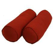 Декоративная подушка-валик Винный
