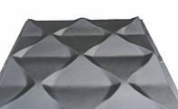 """Пластиковая форма для 3d панелей """"Пирамида"""""""