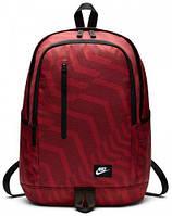 Повседневный рюкзак на 20 л Nike NK ALL ACCESS SOLEDAY BKPK-AOP BA5231-622 красный