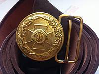Пряжка (парадная Нацгвардия) бляха латунная, фото 1