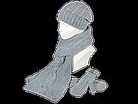 Комплект SHH-04 шапка шарф варежки