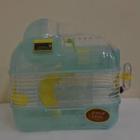 Клетка для мелких  грызунов ,Золотая клетка M02 (34х25х29 см)