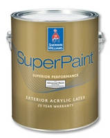 Краска SW SuperPaint Exterior Latex Матовая
