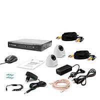 Комплект видеонаблюдения Tecsar 2IN-3M DOME