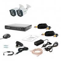 Комплект видеонаблюдения Tecsar 2OUT-3M LIGHT