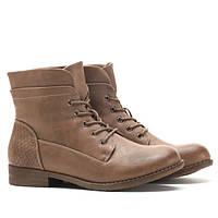 Женские ботинки на шнуровке из искусственной кожи по привлекательной цене
