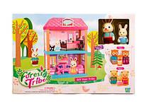 Игровой набор кукольный домик с фигурками 60233