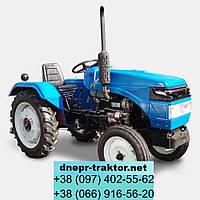 Трактор DW 240A  (2 цил. КПП (4+1)х2, розетка)