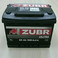 Аккумулятор 6СТ-74 АЗ Зубр (правый/левый плюс)