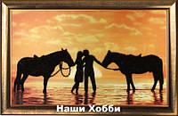 """Набор для вышивания бисером №573 """"На берегу моря"""""""