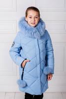 Модная зимняя детская куртка