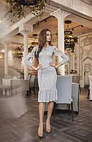 Платье новая коллекция норма трикотаж полоска