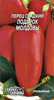 """Семена перца сладкого Подарок Молдовы, среднеспелый 0,3 г (мини пакет), """"Семена Украины"""", Украина"""