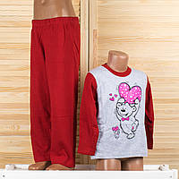 Детская пижама на девочку Турция. Moral 04-3 2/3. Размер на 2/3 года.