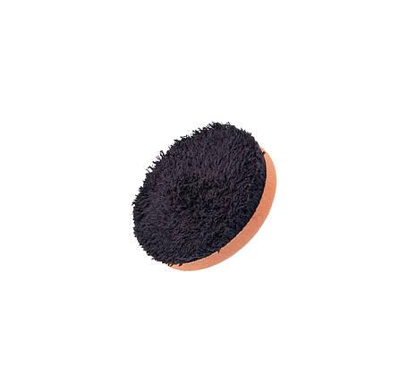 """Полірувальний круг микрофибровый - Flexipads Microfibre Cutting 80 мм (3"""") чорно-помаранчевий (MGCB3), фото 2"""