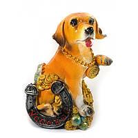 Копилка для монет Собака с подковой