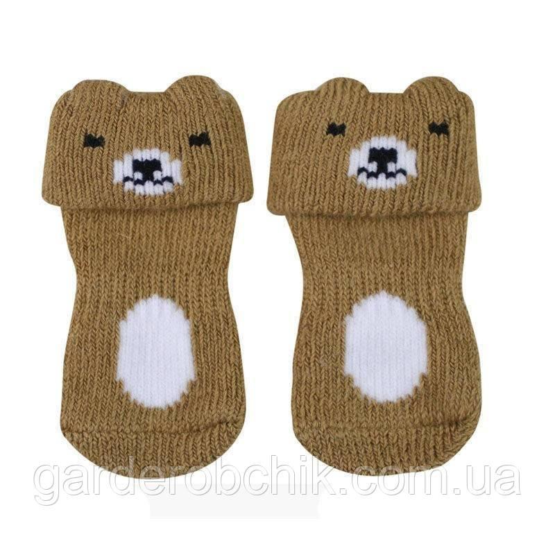 """Носки для собаки """"Зверушки"""". Одежда для собак"""