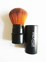 Кисть для макияжа  (для румян, пудры, контурирования, складная)