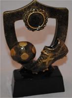 Статуэтка - Футбольный Кубок - Щит с бутсой и мячом