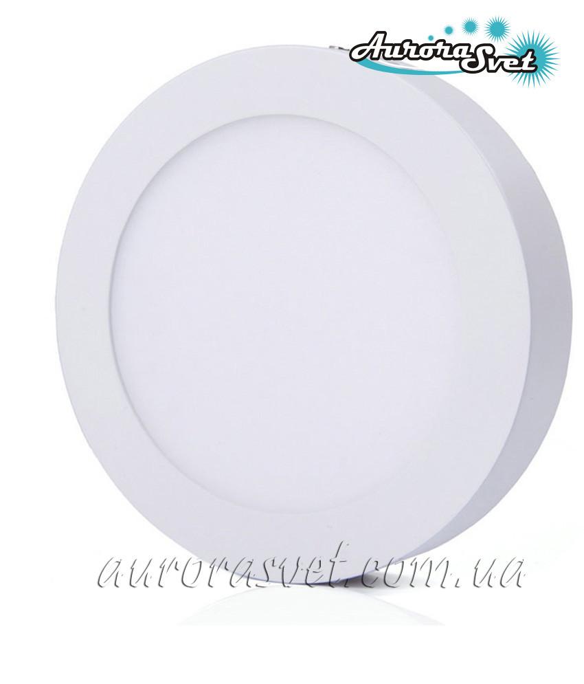 Точечный светодиодный накладной светильник AR2-12W 4000/3000 K (Алюминий) 840lm