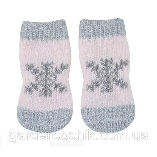 """Носки для собаки """"Снежинка"""". Одежда для собак"""