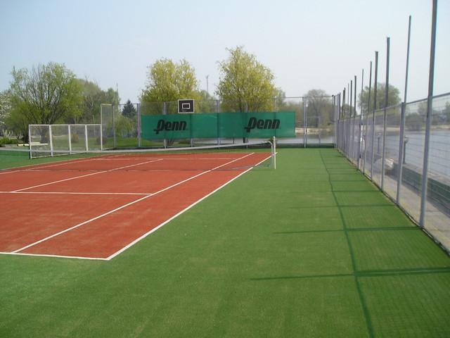 Трава для теннисного корта NewGrass T6-ITF 20