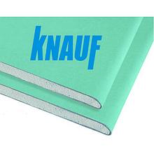Гіпсокартон стіновий вологостійкий KNAUF 12,5х1200х2500 мм