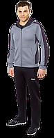 Мужской спортивный костюм , серый-черный