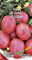"""Семена томата Де-Барао Розовый, среднепоздний 0,1 г (мини пакет), """"Семена Украины"""", Украина"""