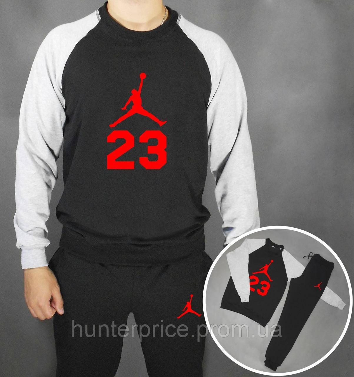 aa6c602af774 Мужской спортивный костюм с принтом Jordan - Интернет - магазин