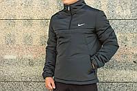 Анорак Intruder Nike, чорний, фото 1