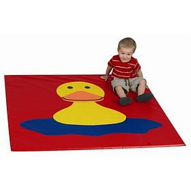 Дитячий мат-килимок для розвитку Качечка