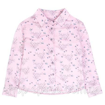 Блузка с длинным рукавом Miracle Me (розовая)