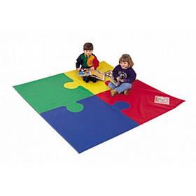 Игровой мат-коврик Пазл 100х100х5 см