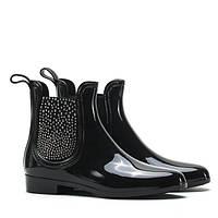 Польские резиновые женские ботинки